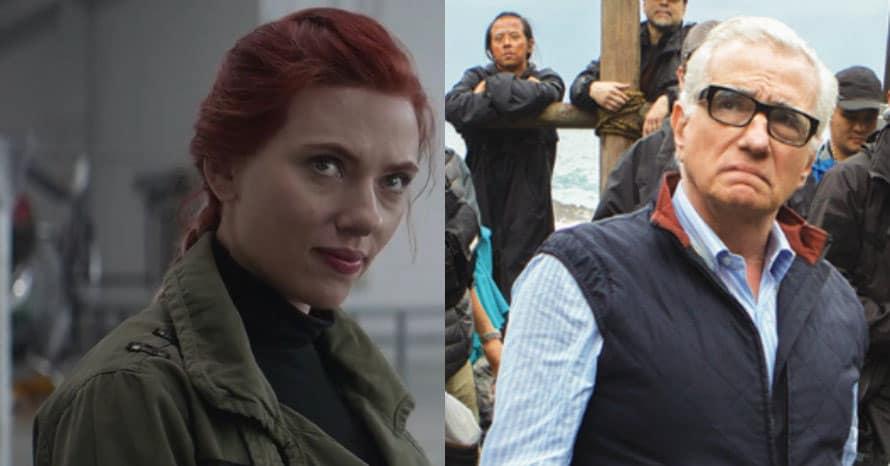 Black Widow Scarlett Johansson Martin Scorsese