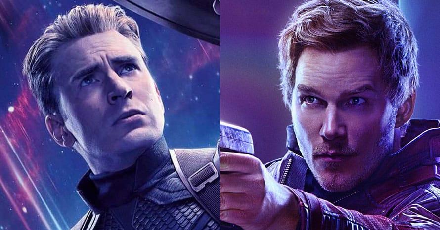 Chris Pratt Captain America Avengers Star-Lord