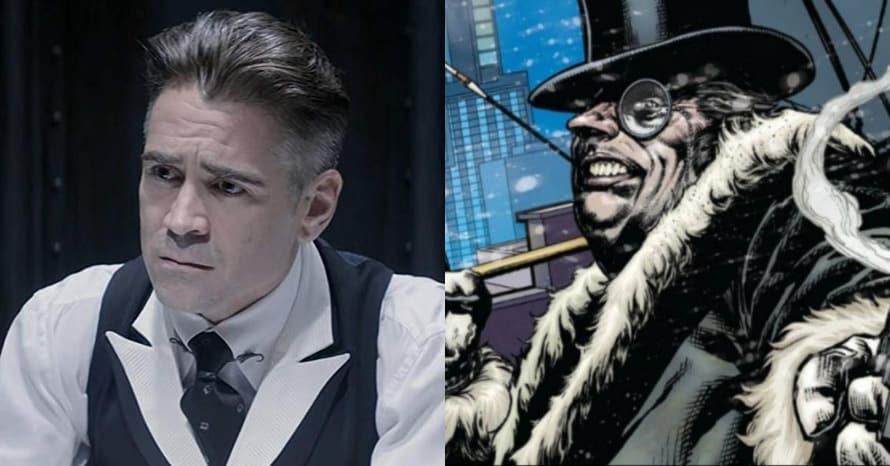 Colin Farrell The Penguin The Batman Robert Pattinson Matt Reeves