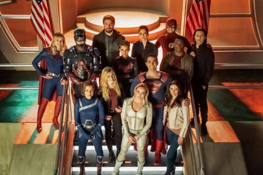 Crisis On Infinite Earths Supergirl BTS Cast