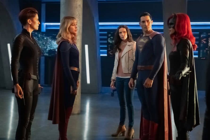 Crisis On Infinite Earths Supergirl Full Team Three