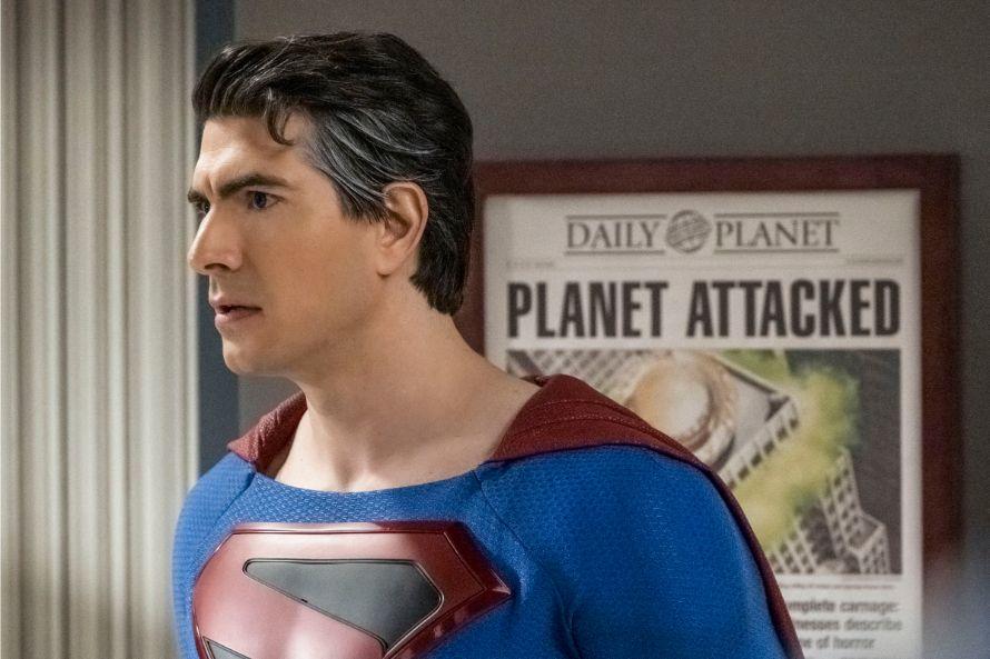 Crisis On Infinite Earths Tom Welling Brandon Rourth Superman Returns
