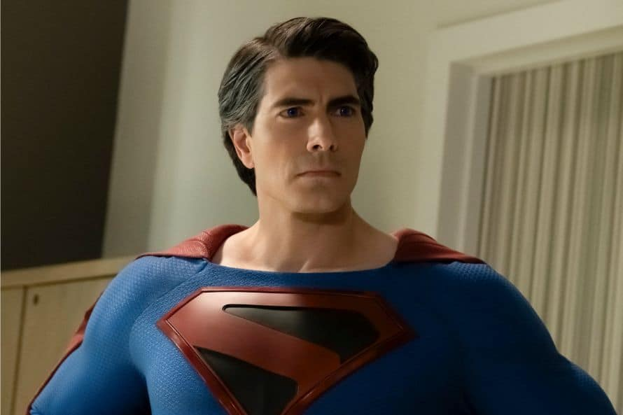Crisis On Infinite Earths Tom Welling Superman Brandon Routh