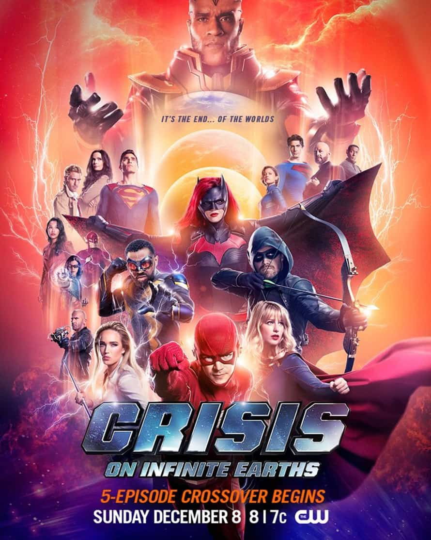 Crisis On Infinite Earths Poster Arrowverse