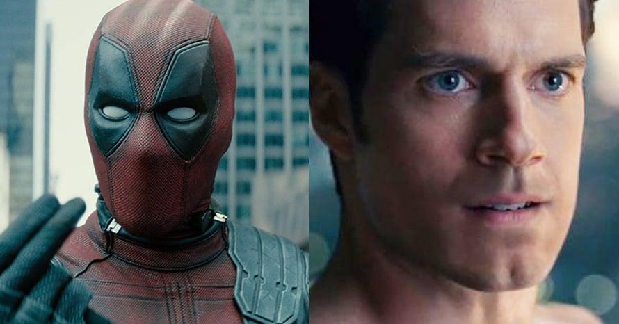 Deadpool Ryan Reynolds Henry Cavill Justice League