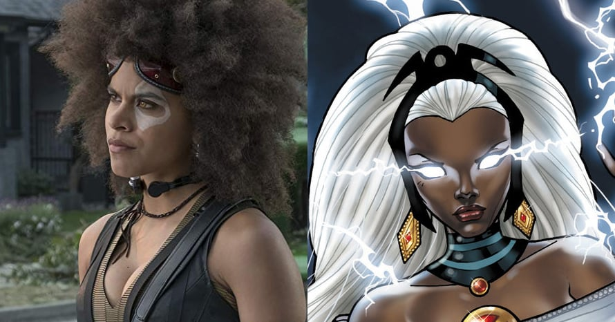 Deadpool Zazie Beetz Storm MCU X-Men