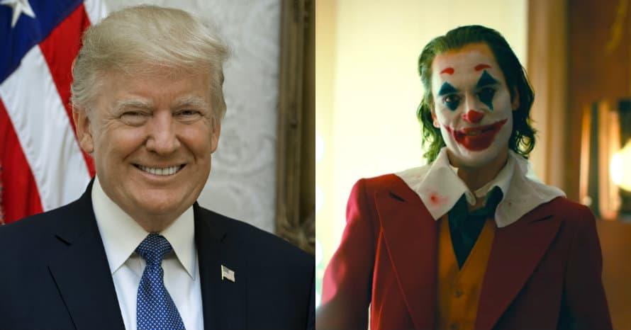 Donald Trump Joker Joaquin Phoenix