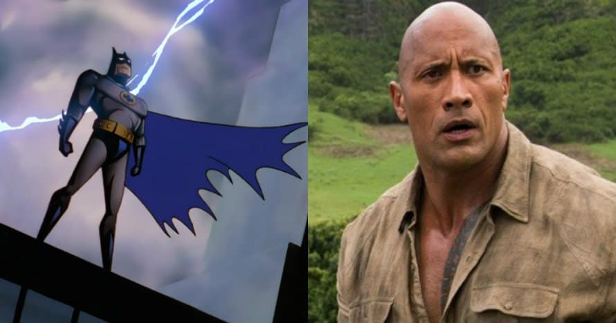 Dwayne Johnson Gets Invited To The Batcave By Batman - Heroic Hollywood