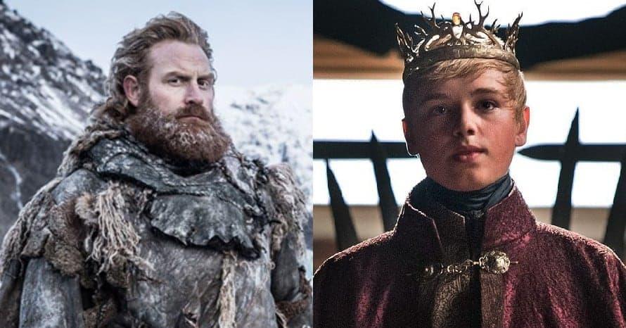 Game Of Thrones Tormund Giantsbane Tommen Baratheon