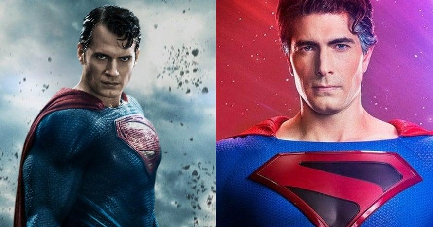 Henry Cavill Brandon Routh Superman Kingdom Come