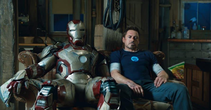 Iron Man 3 Disney Plus Thor Marvel MCU Robert Downey Jr Mark XVI