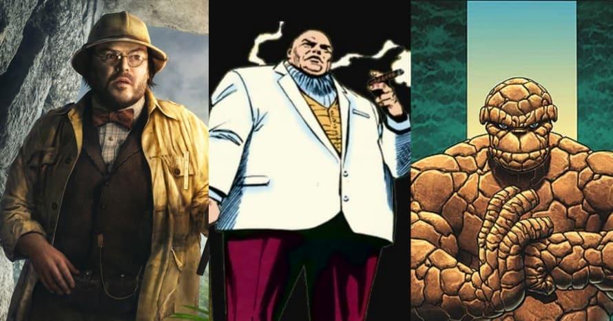 Jack Black Kingpin The Thing Marvel