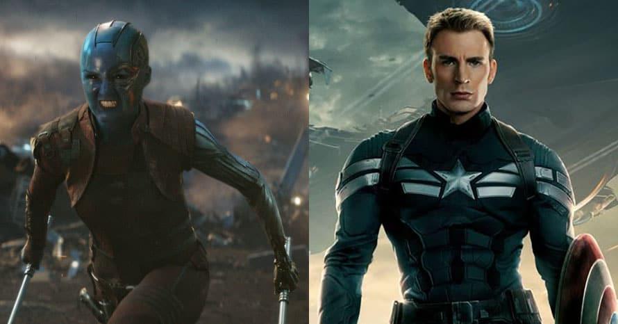 Karen Gillan Captain America Winter Soldier Avengers