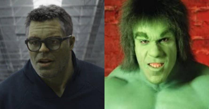 Lou Ferrigno Hulk Avengers Endgame