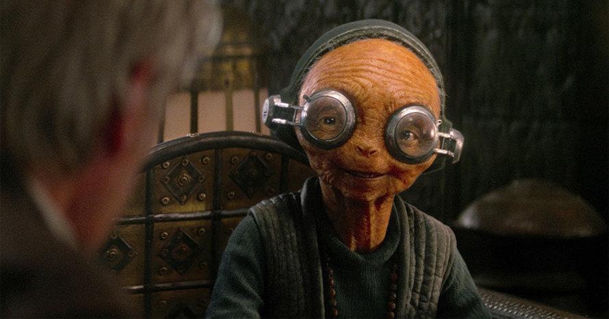 Lupita Nyong'o Star Wars Maz Kanata The Rise of Skywalker The Force Awakens