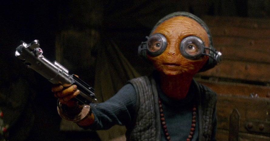 Lupita Nyong'o Star Wars The Rise of Skywalker Maz Kanata