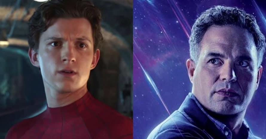 Mark Ruffalo Tom Holland Spider-Man