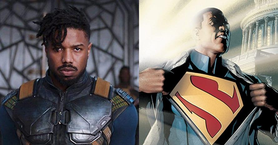 Michael B Jordan Superman Warner Bros