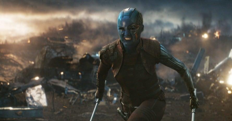 Nebula Avengers Endgame Infinity Gauntlet Karen Gillan Captain America The Winter Soldier