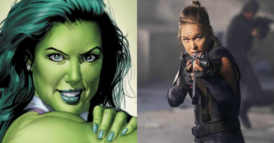Ronda Rousey She-Hulk MCU Disney Plus Marvel