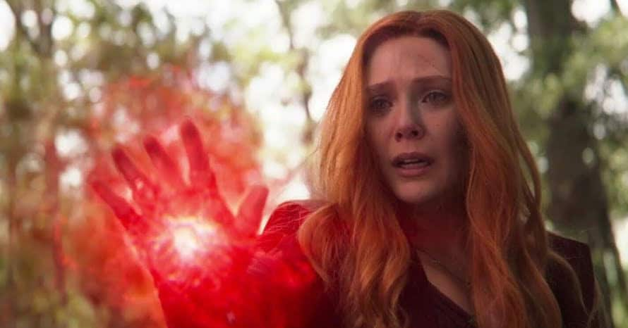 Scarlet Witch Avengers Infinity War Vision