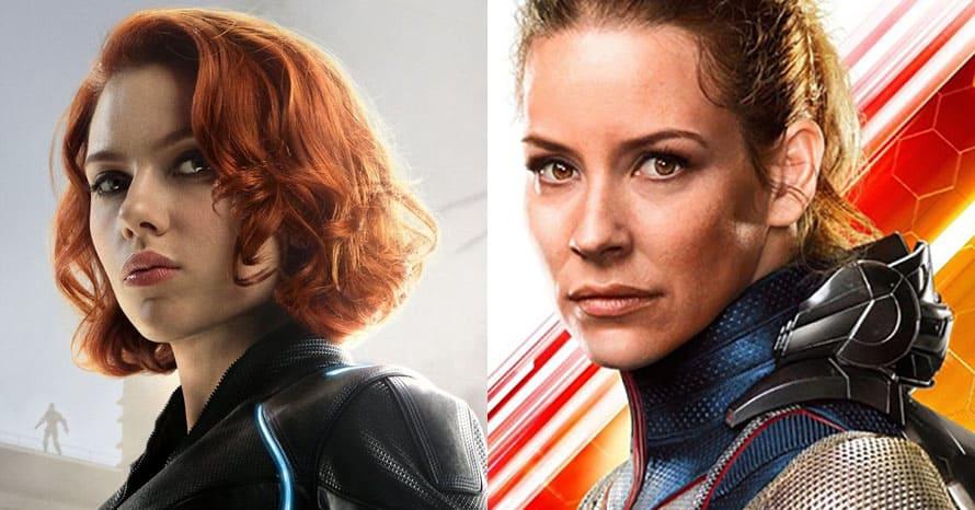Scarlett Johansson Black Widow Wasp Avengers Endgame
