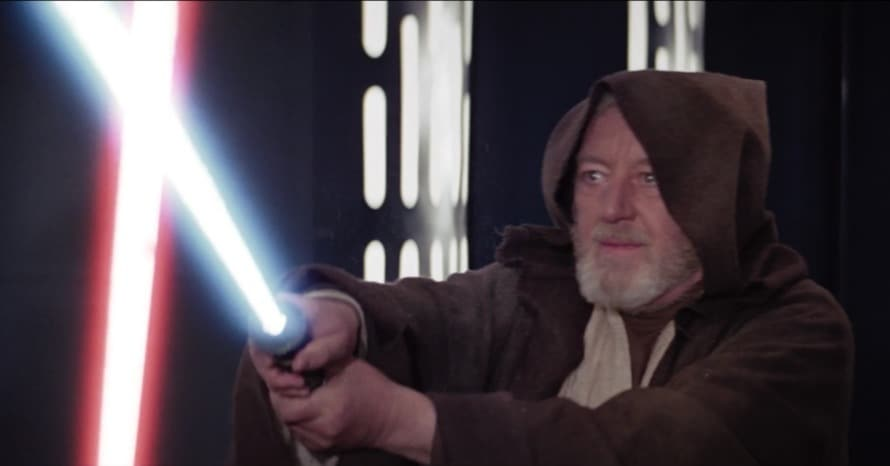 Star Wars Obi-Wan Darth Vader Lightsaber 02