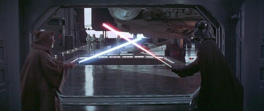 Star Wars Obi-Wan Darth Vader Lightsaber