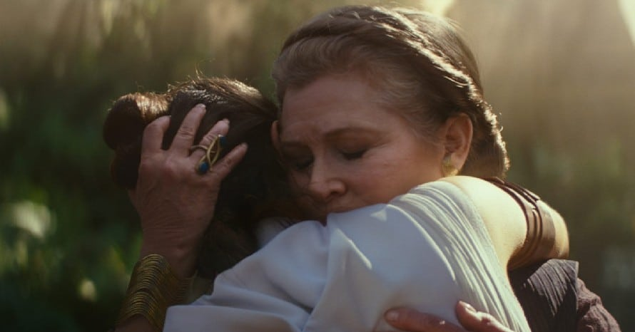 Star Wars The Rise Of Skywalker Carrie Fisher Leia Return of the Jedi