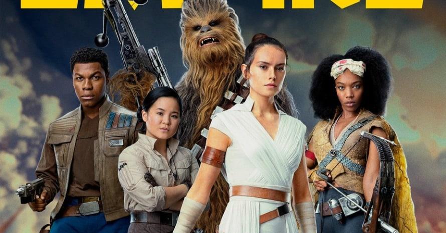 Star Wars The Rise of Skywalker Empire Magazine