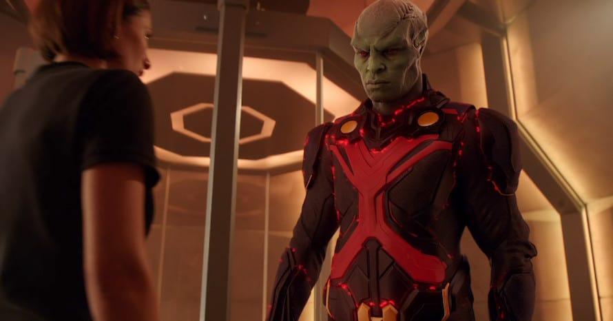 Supergirl Martian Manhunter Legends of Tomorrow