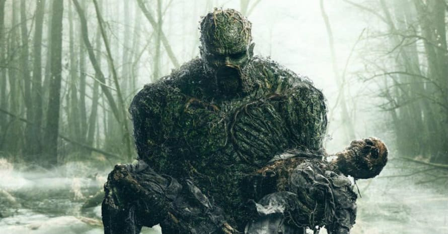 Swamp Thing Justice League Dark The CW