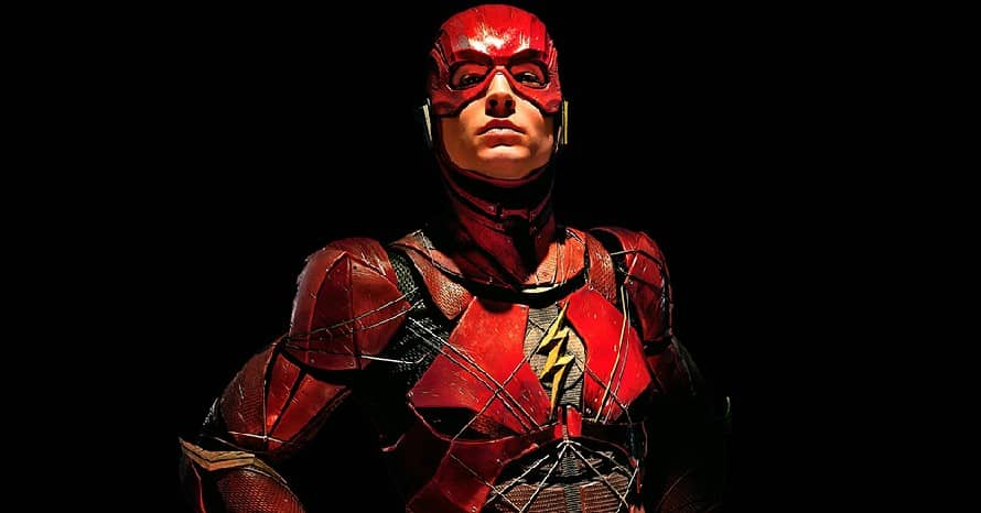 The Flash Ezra Miller Zack Snyder Batman V Superman Andy Muschietti Aquaman Wonder Woman