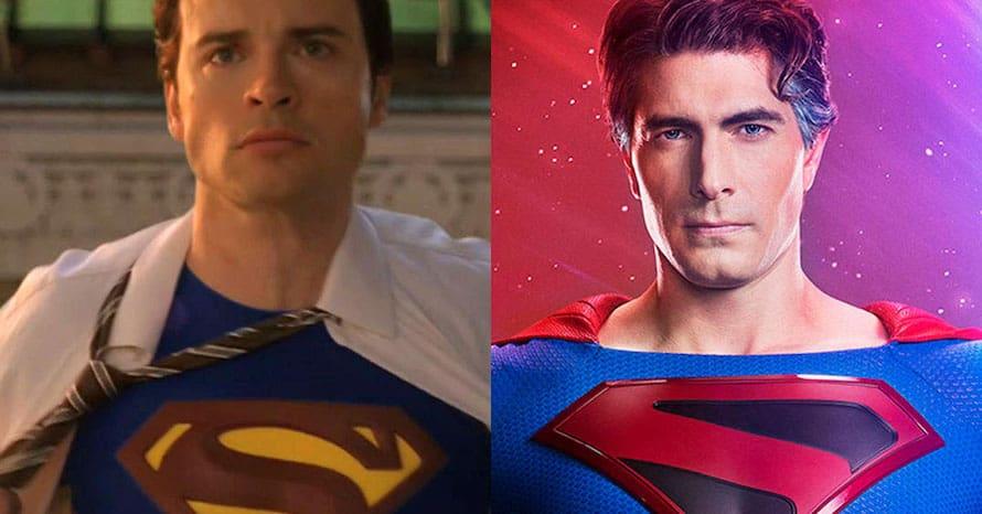 Tom Welling Brandon Routh Smallville Arrowverse Superman