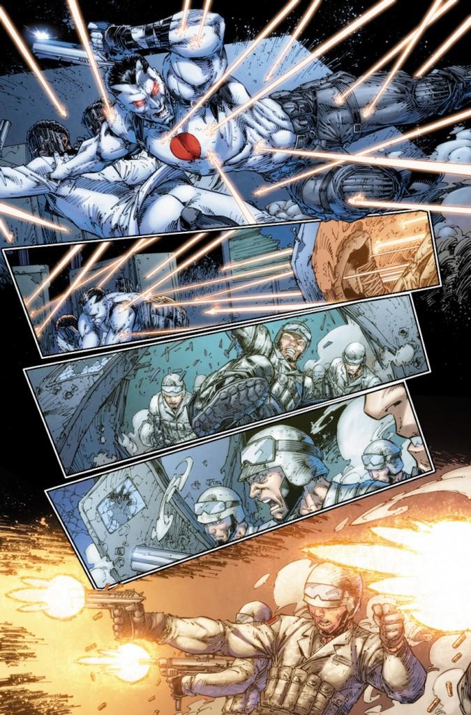 Valiant Comics Bloodshot Preview 1