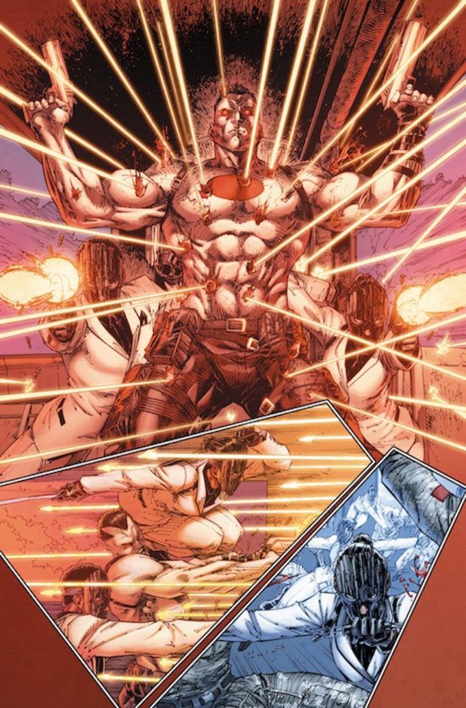 Valiant Comics Bloodshot Preview 2