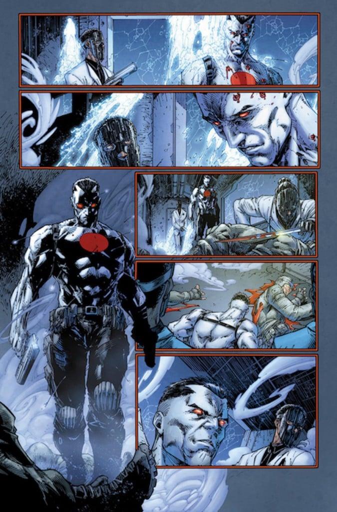Valiant Comics Bloodshot Preview 3