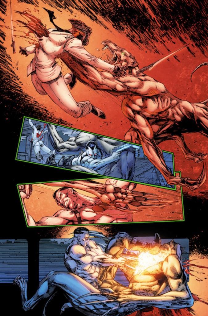 Valiant Comics Bloodshot Preview 4
