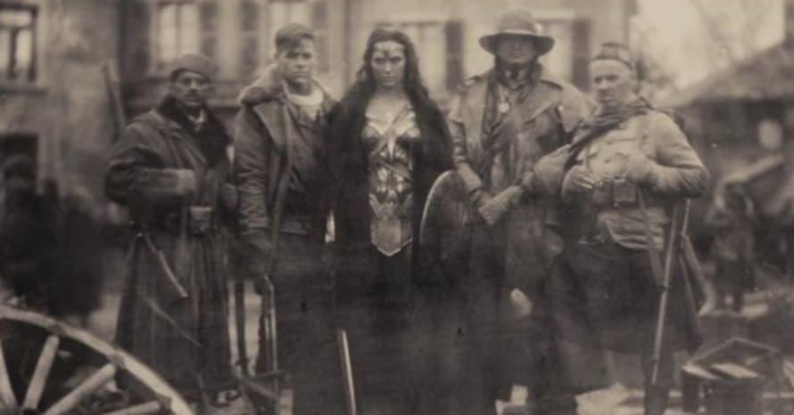Wonder Woman Batman v Superman Justice League Zack Snyder DC