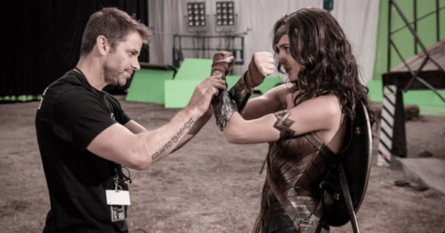 Zack Snyder Explains Controversial Photo Of Wonder Woman With Severed Heads