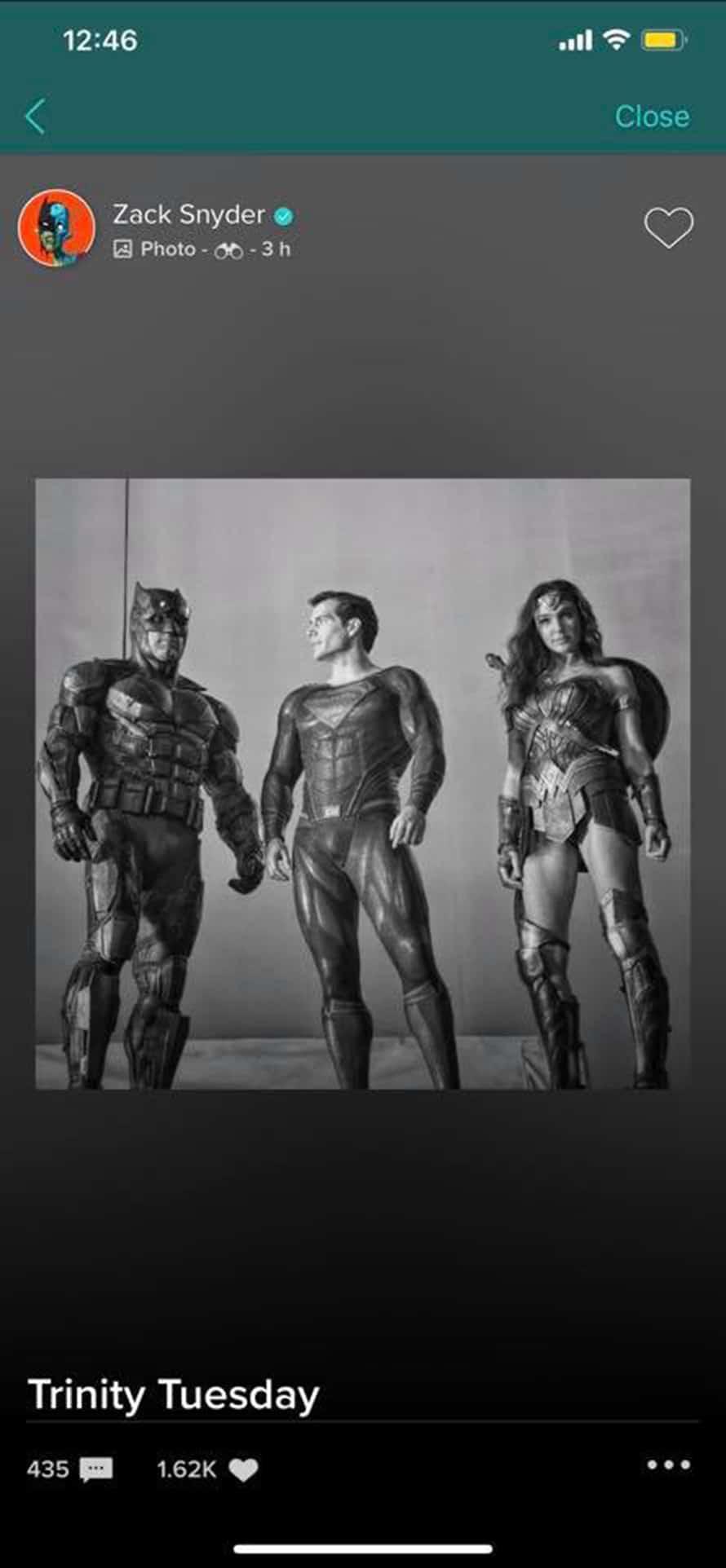 Justice League Zack Snyder Batman Superman Wonder Woman