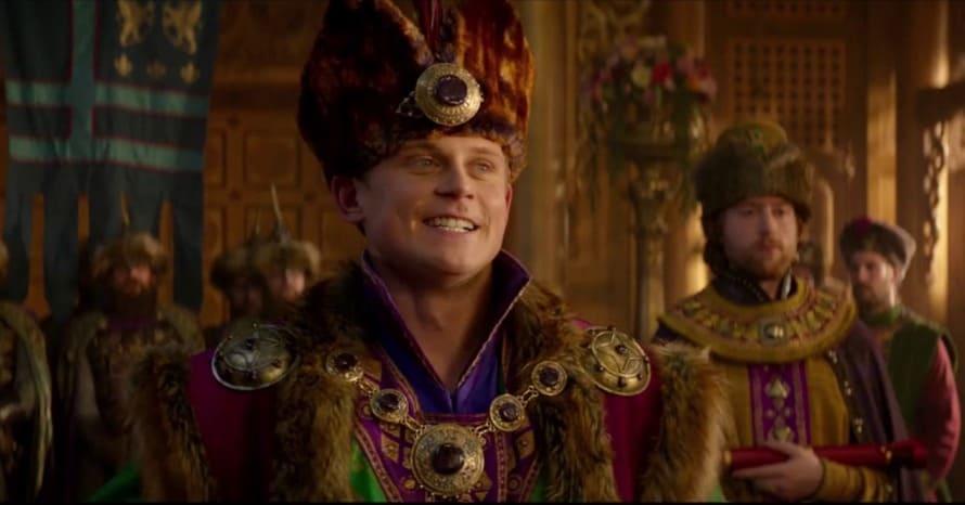 Aladdin Billy Magnussen Prince Anders Disney Plus