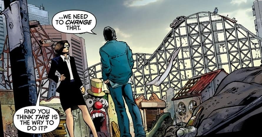 Amusement Mile DC Comics Birds of Prey