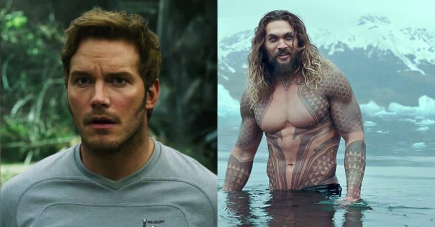 Aquaman Jason Momoa Chris Pratt Avengers