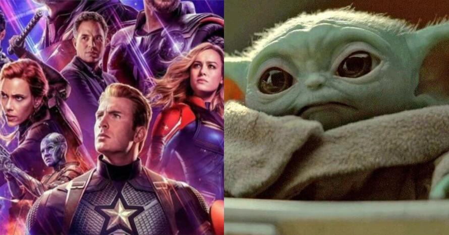 Avengers Endgame Baby Yoda The Mandalorian