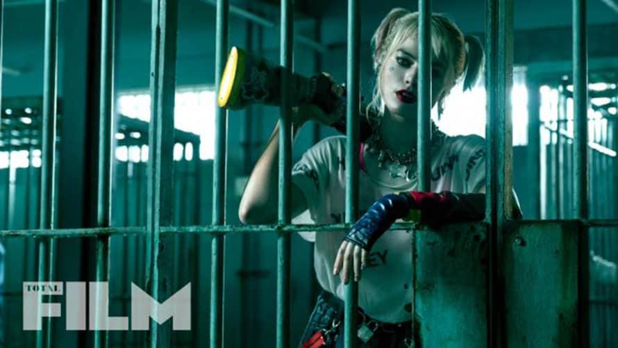 Birds of Prey Margot Robbie Harley Quinn Prison