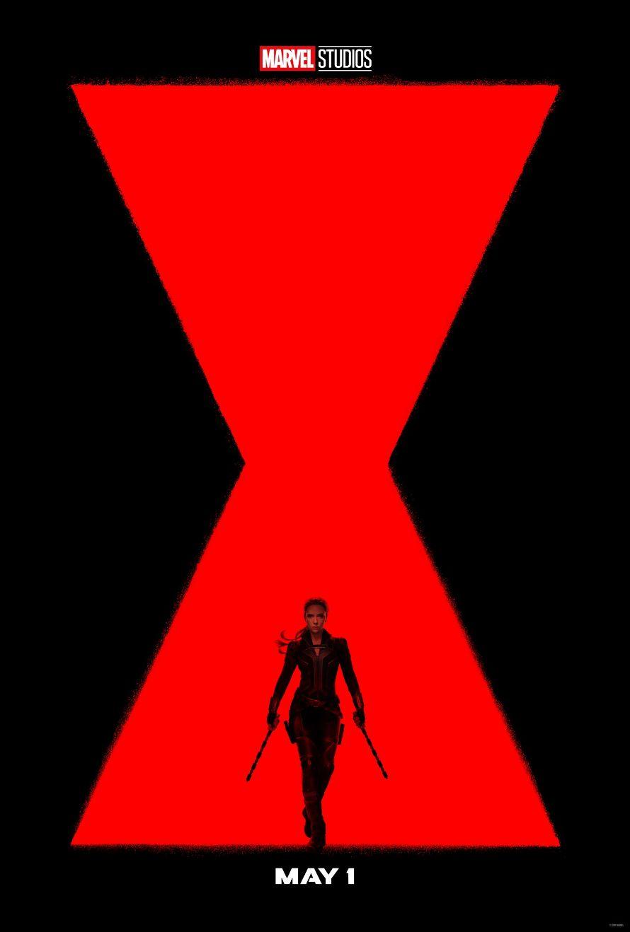 Black Widow Poster Scarlett Johansson Natasha Romanoff