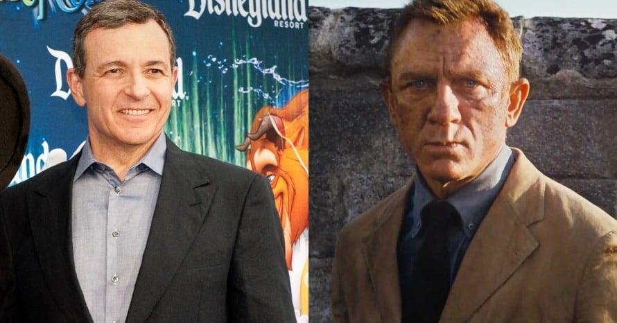 Bob Iger Disney CEO James Bond