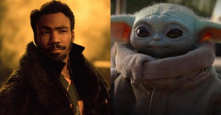 Donald Glover Baby Yoda The Mandalorian