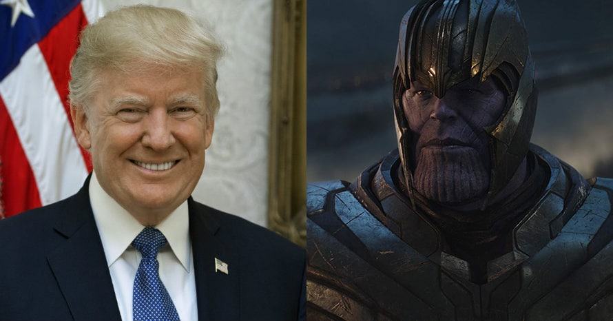 Donald Trump Thanos Avengers Endgame